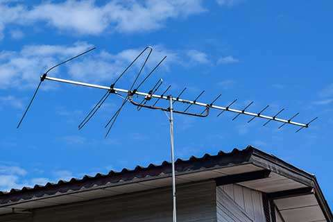 Satellite Dish Removal Service tv antenna photo