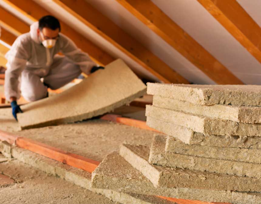 WE ARE EXPERTS AT REMOVING INSULATION SOILED FROM AN ANIMAL OR BAT INFESTATION AND REPLACING IT.