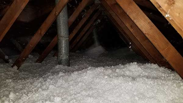 We are experts at soiled insulation removal