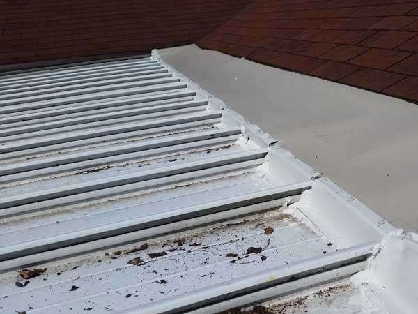 Animal damage repairs exclusions services metal work needed for metal damage done by wildlife.