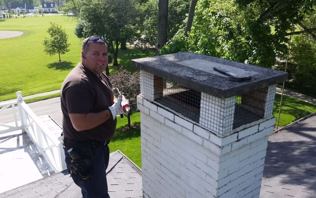 Chimney Cap and Crown Repair in Dayton, Ohio | Property Upkeep