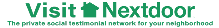 nextdoor-logo  the private social network for neighborhoods.