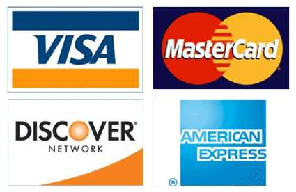 Barnes Wildlife Control accepts Visa, MasterCard, Discover and American Express.