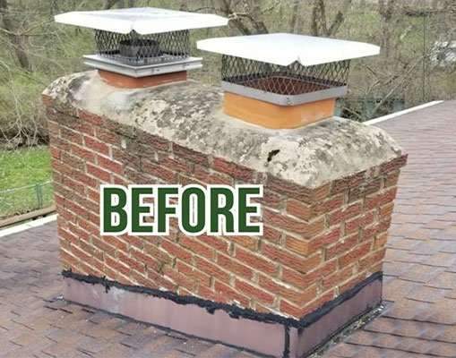 before-chimney-double-top