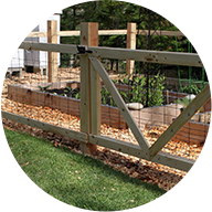 fence your gardens from wildlife
